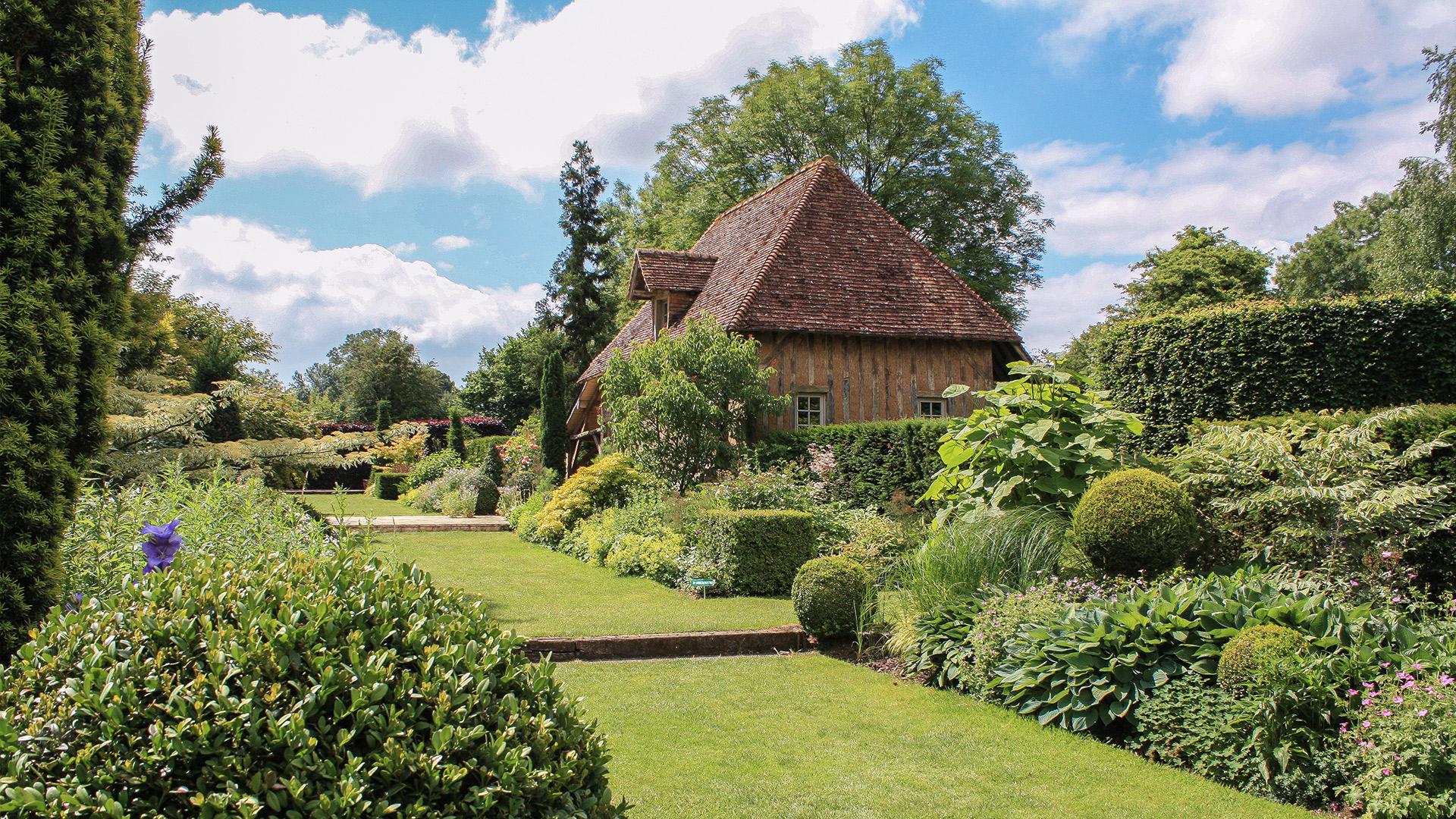 Site officiel les jardins du pays d 39 auge cambremer - Jardin des oiseaux petit quevilly ...